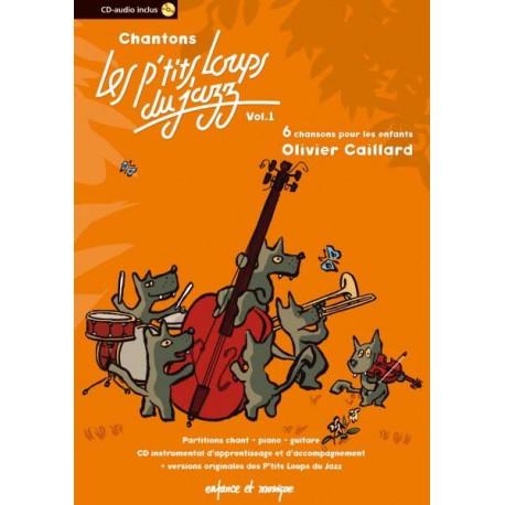 Recueil Chantons P'tits Loups Du Jazz -Vol. 1