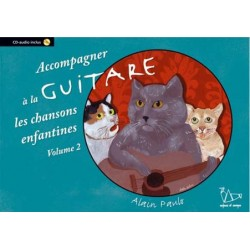 Methode Guitare Chansons Enfantines - Vol 2